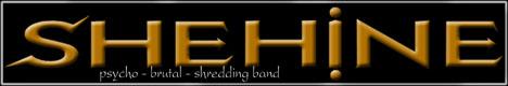 SHEHINE death black doom gothic psycho brutal shredding metal band - Официальный сайт дет блэк метал группы Шехина